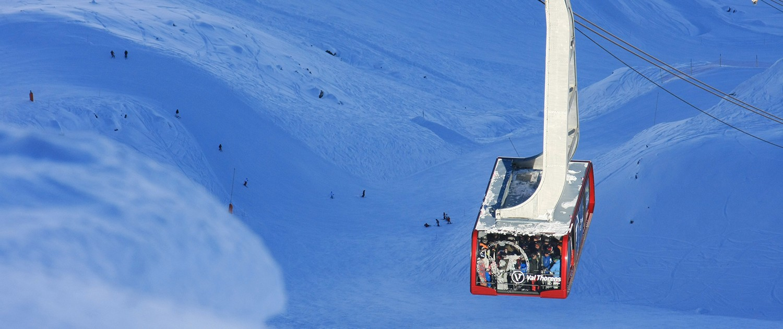 Val Thorens station de ski - Les 3 Vallées